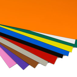 MS-A4, Coloured magnetic sheet, for labelling and arts & crafts, A4 format