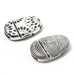 SV-FP-01, Jewellery clasp magnetic with pattern, for bracelets, extra-strong hold