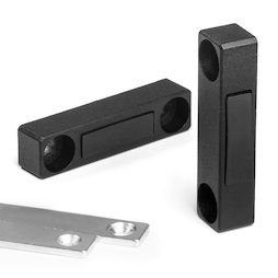 M-FURN-03, Metal fitting narrow, metal, with counterpart