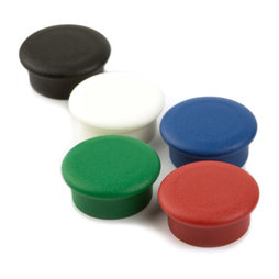 BX-RD20, Boston Xtra Mini round, set of 10 office magnets neodymium